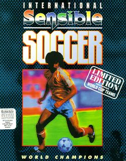 International Sensible Soccer box scan