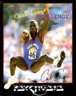 The Carl Lewis Challenge box scan