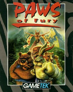 Paws of Fury box scan
