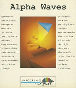 Alpha Waves box scan