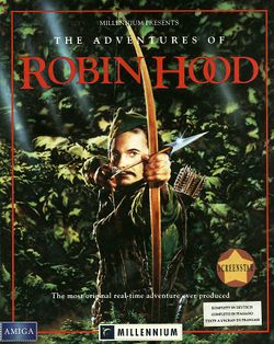 The Adventures of Robin Hood box scan