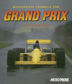 MicroProse Formula One Grand Prix box scan