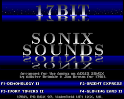 Sonix Sounds screenshot