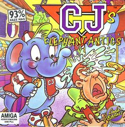 CJ's Elephant Antics box scan