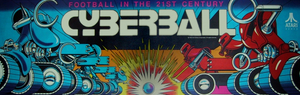 Cyberball marquee.