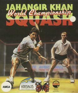 Jahangir Khan's World Championship Squash box scan