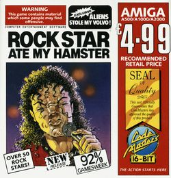 Rock Star Ate My Hamster box scan