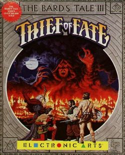 The Bard's Tale III box scan
