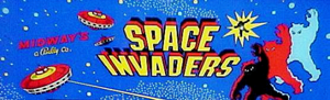 Space Invaders marquee.