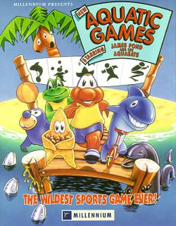 Aquatic Games box scan
