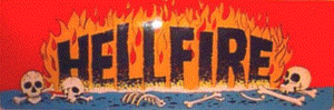 Hellfire marquee.