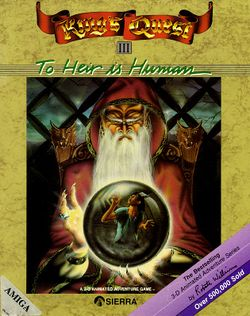 King's Quest III box scan