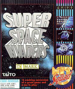 Super Space Invaders box scan