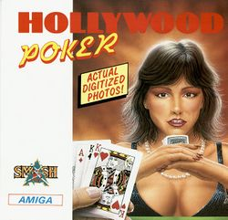 Hollywood Poker box scan