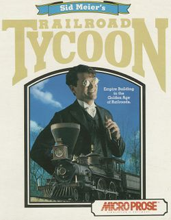 Railroad Tycoon box scan