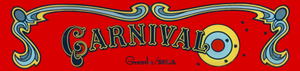 Carnival marquee.
