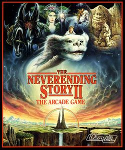 The Neverending Story II box scan