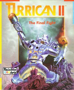 Turrican II box scan