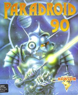 Paradroid 90 box scan