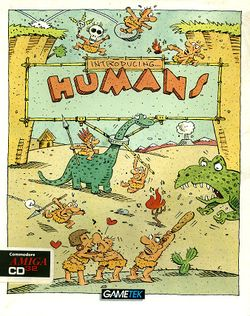 The Humans (CD³²) box scan