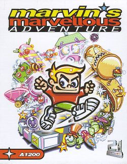 Marvin's Marvellous Adventure (CD³²) box scan