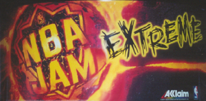 NBA Jam Extreme marquee.