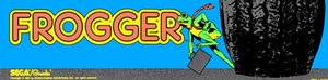 Frogger marquee.