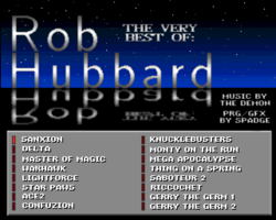 The Very Best of Rob Hubbard screenshot