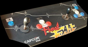 Final Fight control panel.