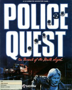 Police Quest box scan