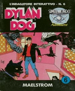 Dylan Dog box scan