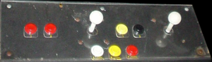 WWF Superstars control panel.