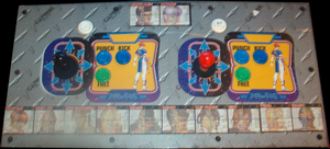 Dead or Alive ++ control panel.