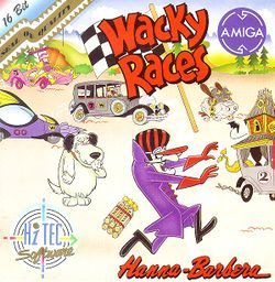 Wacky Races box scan