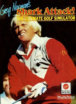 Greg Norman's Ultimate Golf box scan