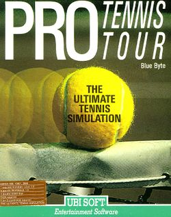 Pro Tennis Tour box scan