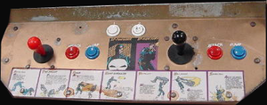 The Punisher control panel.