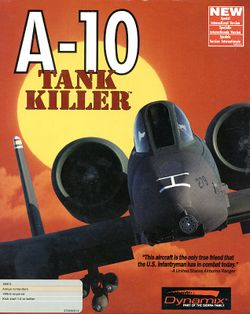 A-10 Tank Killer box scan