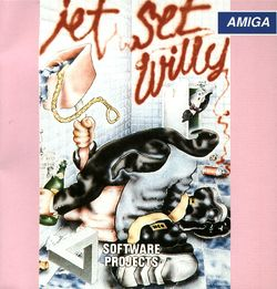 Jet Set Willy II box scan