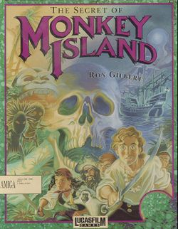 The Secret of Monkey Island box scan