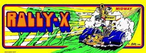 Rally-X marquee.