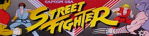 Street Fighter marquee.