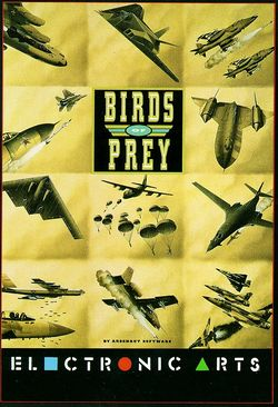 Birds of Prey box scan