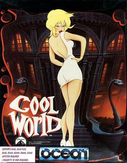 Cool World box scan