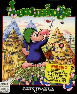 Lemmings box scan
