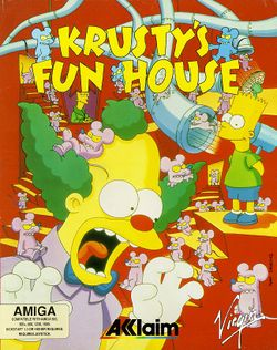 Krusty's Super Fun House box scan