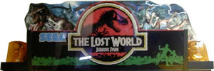 The Lost World marquee.