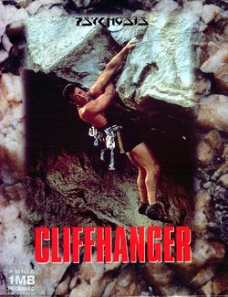 Cliffhanger box scan