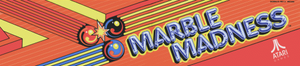 Marble Madness marquee.