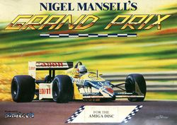 Nigel Mansell's Grand Prix box scan